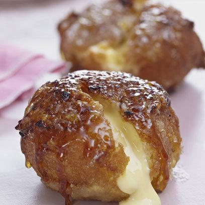 Crème brulèe doughnuts
