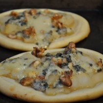 Blue Cheese, Pear and Walnut tart