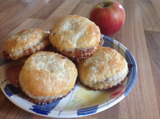 Apple & Caramel Pies