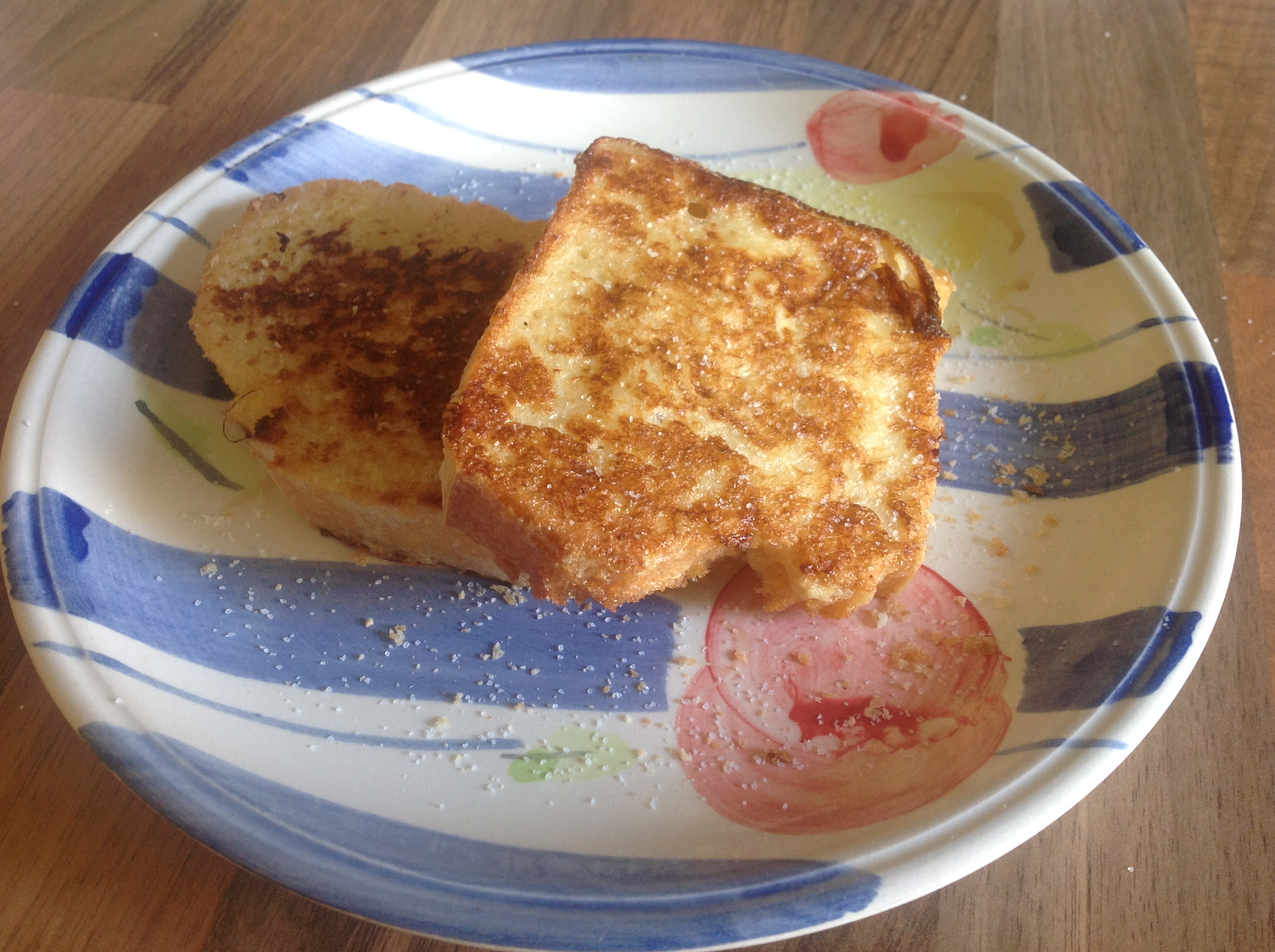 French Toast Eggy Bread