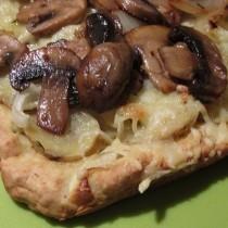 Potato, Mushroom & Rosemary Foccacia