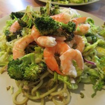 Prawn and Broccoli Salad