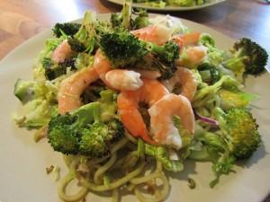 Prawn and Broccoli Salad