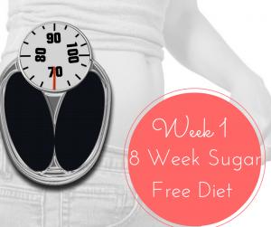 Week 1-8 Week Sugar Free Diet